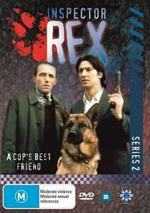 DVD INSPECTOR REX SERIES TWO 2 / 8 PAGE BOOKLET 4 DISC'S BRAND NEW UNSEALED