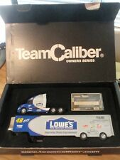 Jimmie Johnson #48 ~ Lowes~2003 Racing Transporter~Limited Edition~OWNERS SERIES