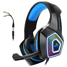 Gaming Headset with Mic for Xbox One PS4 PC Nintendo Switch Tablet Smartphone,