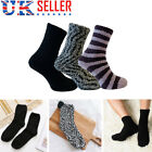 3 Pairs Men Cosy Bed Socks Mens Fluffy Home Sock Thick Indoor Winter Warm Soft