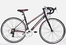 AMMACO XRS650 FRAME 48cm GENUINE LADIES FRAME ALLOY RACING ROAD BIKE BLACK/RED
