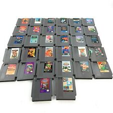 Nintendo NES Video Game Lot Set of 32 Astyanax Supermario Dynowarz Shadow Gate