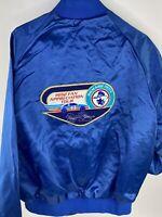 Vintage Richard Petty Jacket 1992 Fan Appreciation Tour Mens L West Ark Race Car