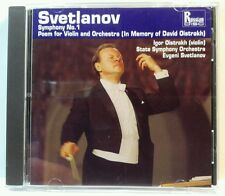 Evgeni Svetlanov: Symphony No. 1; Poem for Violin and Orchestra (cd5101).