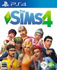 USED PS4 The Sims 4 JAPAN Sony PlayStation 4 import Japanese game