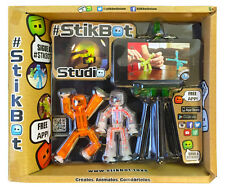 StikBot Studio Pack Toy Shed DLX Toy Figures Create Stop Motion Movies Free App
