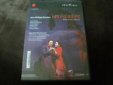 """COFFRET 2 DVD """"LES PALADINS"""" opera de Jean-Philippe RAMEAU / Theatre du Chatelet"""