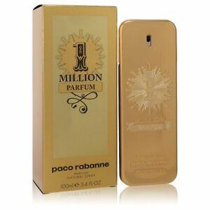 1 Million Parfum by Paco Rabanne Parfum Spray 3.4 oz / 100 ml [Men]