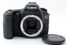 100 Shot MINT Canon EOS 60D 18.0 MP Digital SLR Camera Body Free Ship JPN 646103