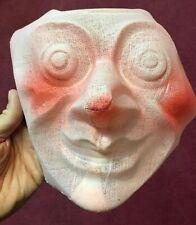Vintage & Unused 1940's Creepy Face Long Nose Gauze Halloween Costume Mask