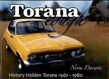 Torana Tough: History Holden Torana 1967-1980 signed by Norm Darwin