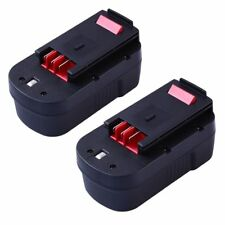 18V 2.0Ah Replace  Battery for Black & Decker Cordless Tools HPB18 HPB18-OPE