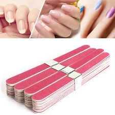 10pcs Pro Nail Art Sanding Files Polish Acrylic Block Buffer Manicure Tips Tools