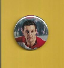 "Jean Beliveau Montreal Canadians 2"" Hockey Pin Back Button"