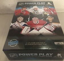 NHL POWER PLAY team Building Card Game (New; Sealed)