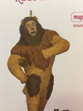 Hallmark Keepsake 2017 The Wizard Of Oz Cowardly Lion If I Only Had the Nerve