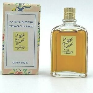 Vintage Le Billet Doux De Fragonard Grasse Perfume 95% Remaining Splash FR