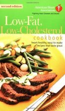 The American Heart Association Low-Fat, Low-Cholesterol Cookbook: Delicious Reci