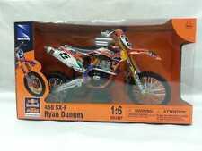 NEW RAY MODELLINO MOTO CROSS KTM 450 SX-F RYAN DUNGEY SCALA 1:6 MODEL BIKE