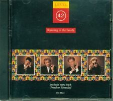 Level 42 - Running In The Family West Germany Press Cd Ottimo