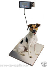 400lb STAINLESS STEEL Platform Dog Digital Pet Scale Veterinary Weight Vet