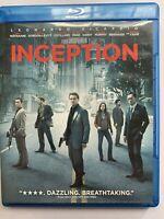 Inception (Blu-ray/DVD, 2010 3 Disc Set Leonardo DiCaprio Special Features Movie