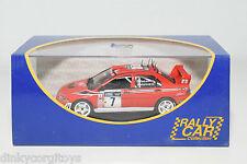 . IXO RALLY CAR MITSUBISHI LANCER WRC RALLYE SANREMO 2002 DELECOUR MINT BOXED