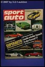 Sport Auto 9/77 Monteverdi Audi 80 GTE Alfasud VW Polo