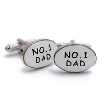 Number 1 Dad Novelty Cufflinks By Onyx-Art Gift Boxed CK135