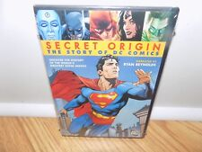 Secret Origin: The Story of DC Comics (DVD, 2010) BRAND NEW, SEALED