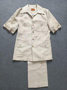 1877 Savanna international safari suit In Excellent Condition