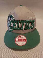 Boston Celtics Hat Official New Era 9Fifty  Hardwood Classic