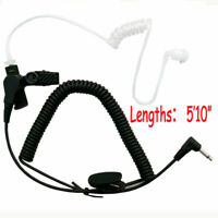 New 3.5mm Receive Headset Earphone Earpiece For Motorola Radio Mic Walkie Talkie