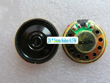 1pcs Φ28mm*5mm 8ohm 0.5W Full-range speaker for Walkie Talkie / TV / Toy / DVD