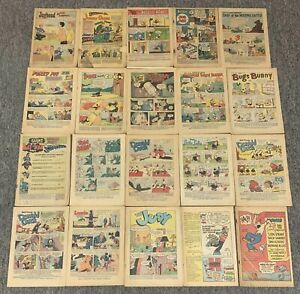 lot of 20 coverless~1950s-1960s~ARCHIE, DC, DISNEY, DELL, HARVEY