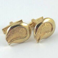 Vintage Cufflinks Gold Tone