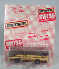 Matchbox MB67Ikarus Coach Swiss Collection Bus Marti Reisen Die Cast Scale Model