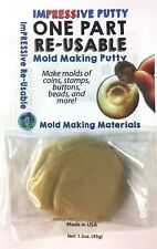ImPRESSive Putty 1.5oz. (43g)  Silicone-like Mold Making Re-usable Molds