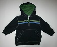 New Gymboree Canvas Pull Over Jacket Coat Navy Blue Size 3 year Shark Reef Line