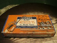 Lionel Postwar 927 Lubricating and Maintenance Kit box container only