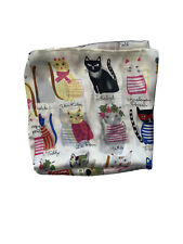 Beautiful Silk Satin Cat Scarf - Perfect Gift for Cat Lovers