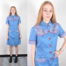 Cotton Blend Everyday Vintage Dresses for Women