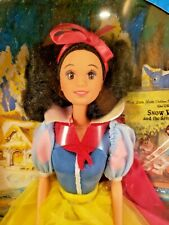 SNOW WHITE Doll - Walt Disney 1992 Mattel with Little Golden Book Barbie style