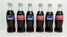 6 Coke 1996 AFC Champions 8oz Coca-Cola Bottles New England Patriots Unopened