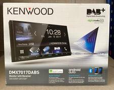 "Kenwood DMX 7017DABS 7"" Bluetooth DAB+ Radio Apple Carplay Android Car AV Screen"