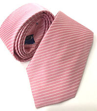 "Paul Smith Pink Tie 9cm Blade Stripe Design ""MAINLINE"" Made in Italy"