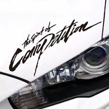Reflective The Spirit of Competition Car Auto Vinyl Decal Sticker For Mitsubishi