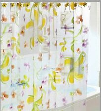 13 Pcs Set Garden Home Shower Curtain With Hooks No More Mildew 72 X