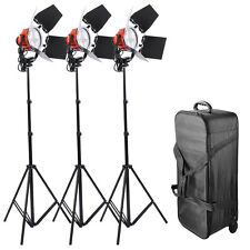 3x800W Dimmable Photo Studio Continuous RedHead Light Video Lighting Bulb 2400W