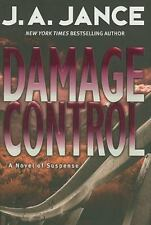 DAMAGE CONTROL J. A. Jance stated 1st Edition 2008 Mystery Hardcover & Jacket